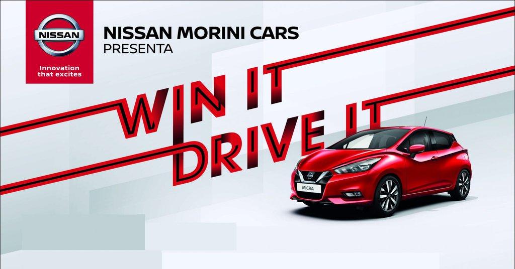 Win IT Drive IT Nissan Morini Cars