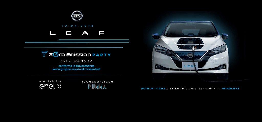 Nissan Leaf Zero Emission Party
